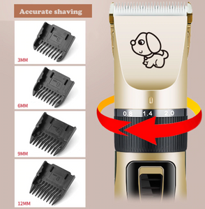 Rechargeable Pet Hair Clippers