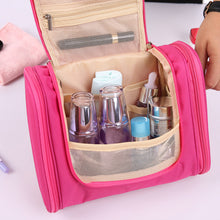 Load image into Gallery viewer, Waterproof Hanging Makeup Travel Bag