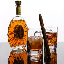 Load image into Gallery viewer, Whiskey Glass with Cigar Holder