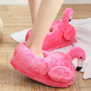 Super Soft Flamingo Slippers