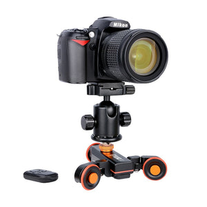 Motorized Camera Dolly with Remote Control