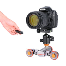 Load image into Gallery viewer, Motorized Camera Dolly with Remote Control