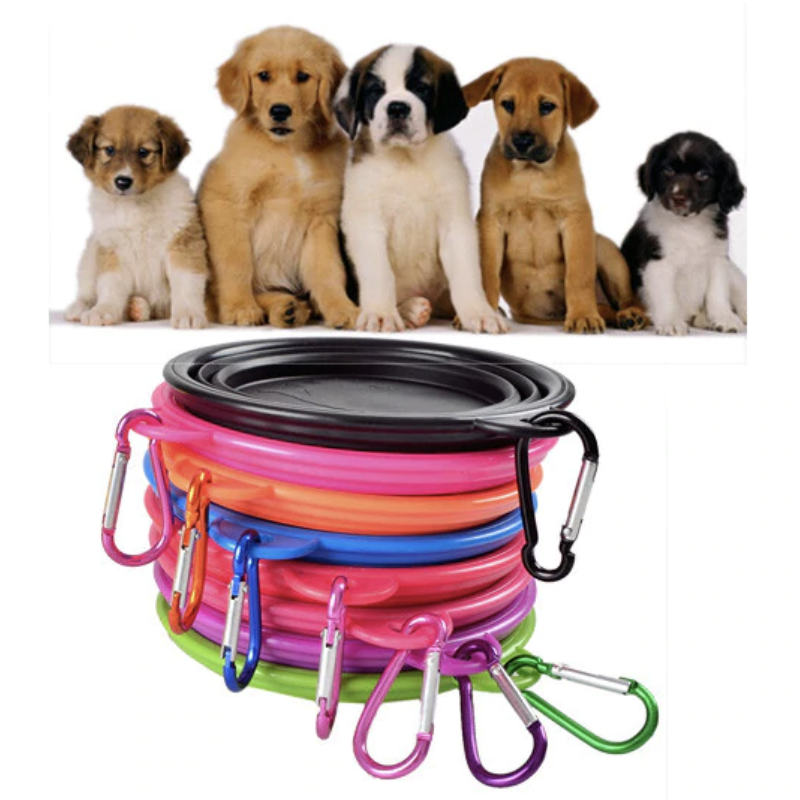 Collapsable Travel Dog Bowl