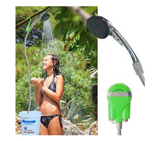 Load image into Gallery viewer, Portable Wireless Shower
