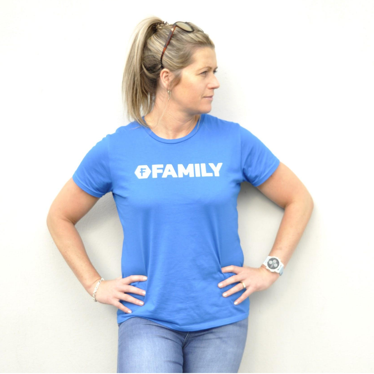 Women's FUSTLE FAMILY SS Lifestyle Tee