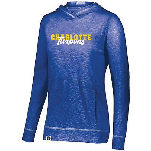 LADIES JOURNEY ROYAL TARPONS HOODIE