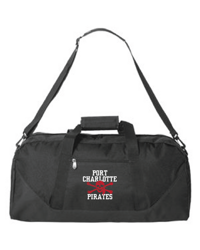 PC PIRATES BLACK DUFFEL BAG