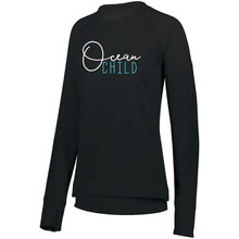 Load image into Gallery viewer, LADIES OCEAN CHILD TONAL HEATHER PULLOVER