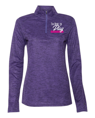 Women's Here to Play Quarter-Zip Pullover