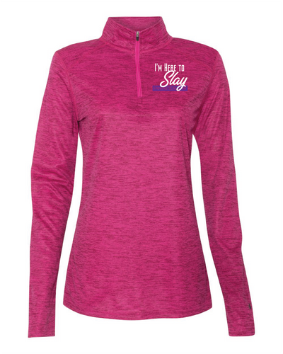 Women's Here to Slay Quarter-Zip Pullover