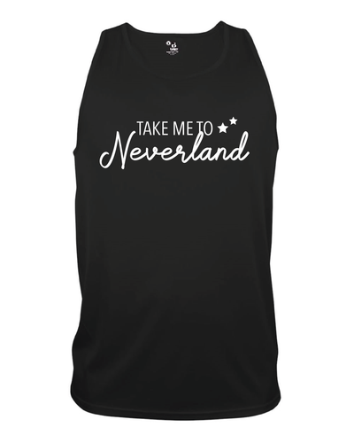 Take Me To Neverland Core Tank Top