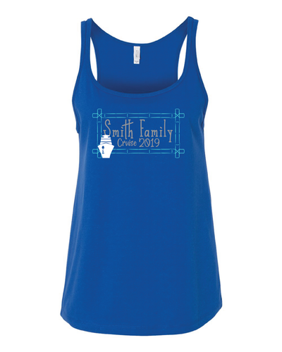 *CUSTOM* Family Cruise Women's Relaxed Jersey Tank