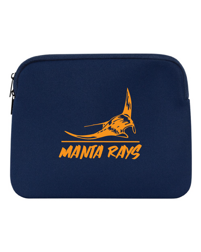 Manta Rays Neoprene Laptop Holder