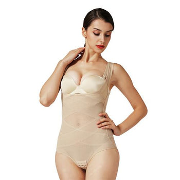 a959462cbb7 Slimming Underwear bodysuit women Waist modeling strap slimming belly  sheath waist trainer butt lifter body shaper ...