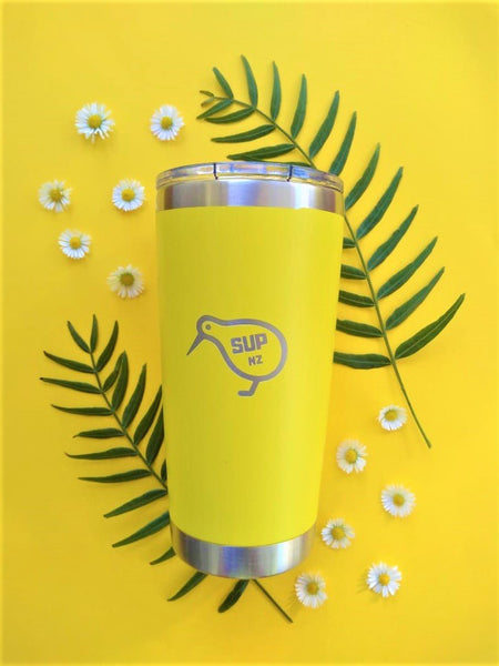 sup nz reusable smoothie cup 20oz canary yellow nz