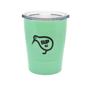 8oz stainless steel reusable cup mint