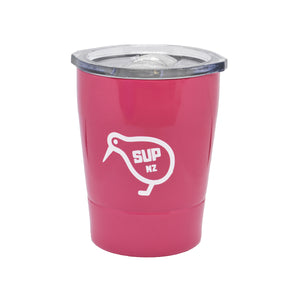 8oz Stainless Steel Reusable cup pink