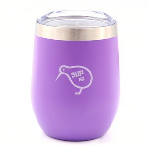 Purple Stainless Steel SUP NZ Cup