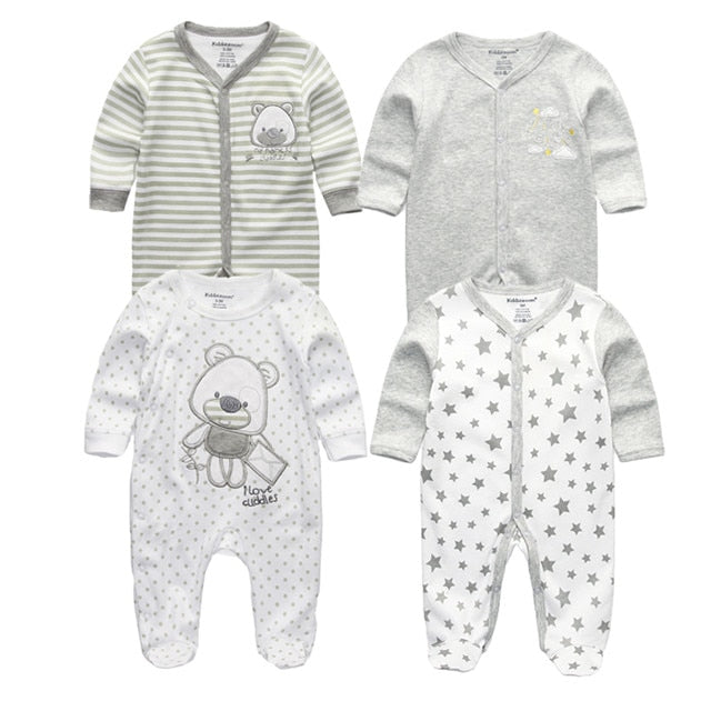 f9a3cef30fc8 ... Baby Boys Rompers Soft Cotton Baby Unisex Rompers Overalls Newborn  Clothes Long Sleeve Roupas de bebe ...