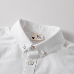 Junior's long-sleeve shirts - White