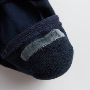 Giordano Solid Invisible Socks (2-pairs)