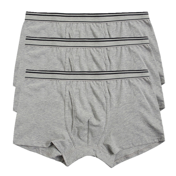 3 Pack Boxer Brief - Grey