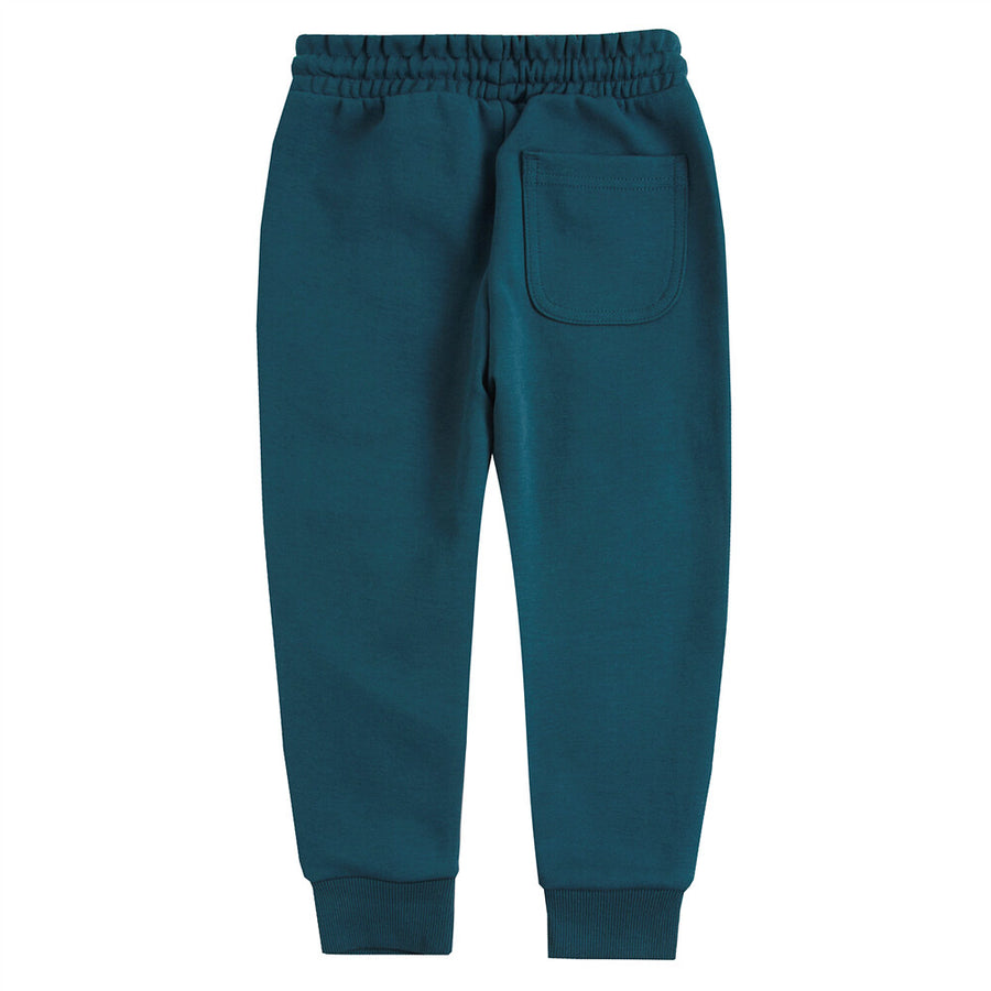 Giordano Junior Zip Elastic Waistband Jogger Pants 56 Green