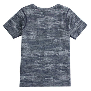 G-Motion Junior's COOLMAX Printed Crewneck Tee - 71
