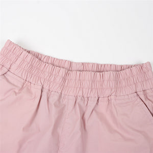 Giordano Women's Poly-Jogger 85 Pale Mauve Pink
