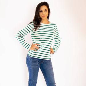 Stripe Knit Sweater