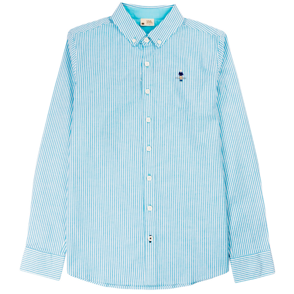Junior's long-sleeve shirts - Turquoise