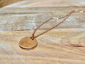 Tawakkul necklace, Muslim Jewelry, Accessari, Islamic Jewelry, Rose Gold Necklace , 18k necklace, tawakkul, tawakkul necklace, tawakkul pendant