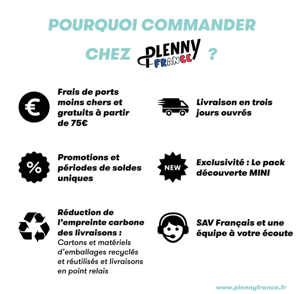 pourquoi commander plenny france