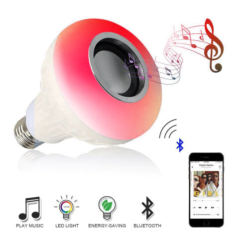 Bluetooth Bulb Light Speaker