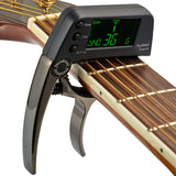 Multi-functional Electronic Guitar Capo Tuner