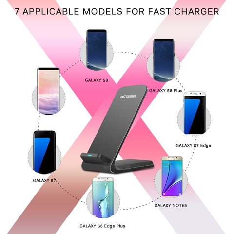 Wireless Charger - Quick Charge 2.0 Fast Charging