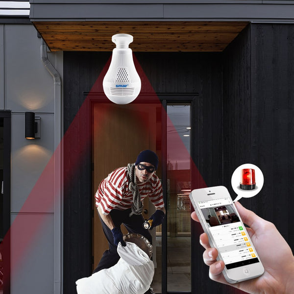 Wireless Camera Bulb Light