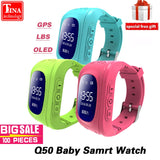 GPS Smart Kid Watch with OLED Screen