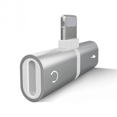 2 in 1 Audio Adapter For iPhone