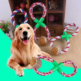 Rope-Braided Ball Dog Chew Toy