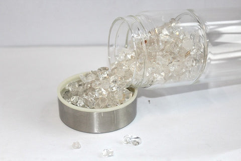 Crystal Glass Water Bottle