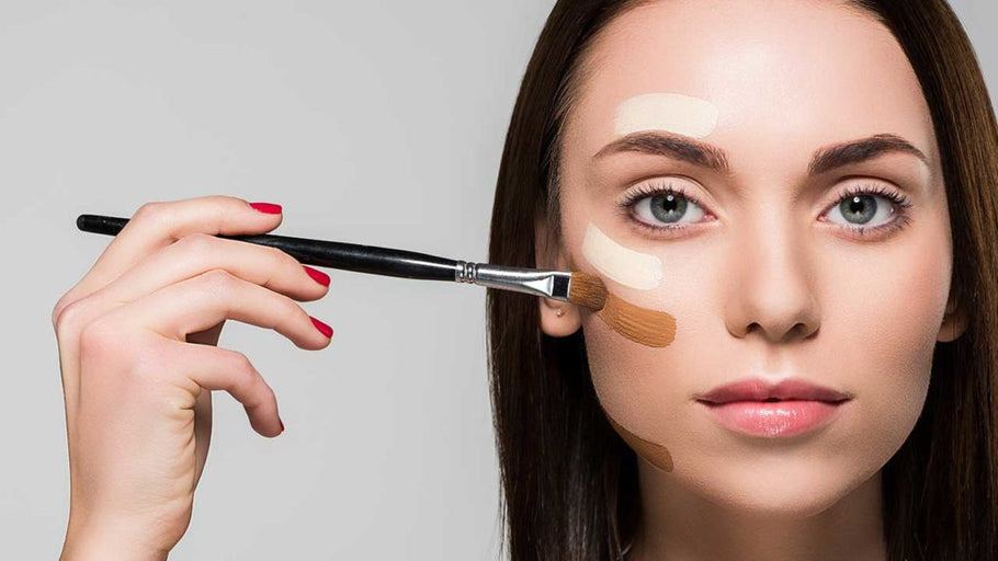 How to apply make-up on dry skin