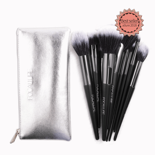 10 Pcs Brushes | Focallure Makeup Brushes | Klex Beauty