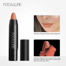 Load image into Gallery viewer, Matte Lips Crayon  | Human Hair Wigs & Focallure | Klex Beauty