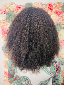 Afro Frontal Wig