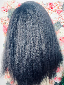 Kinky Straight  | Human Hair Wigs & Focallure | Klex Beauty