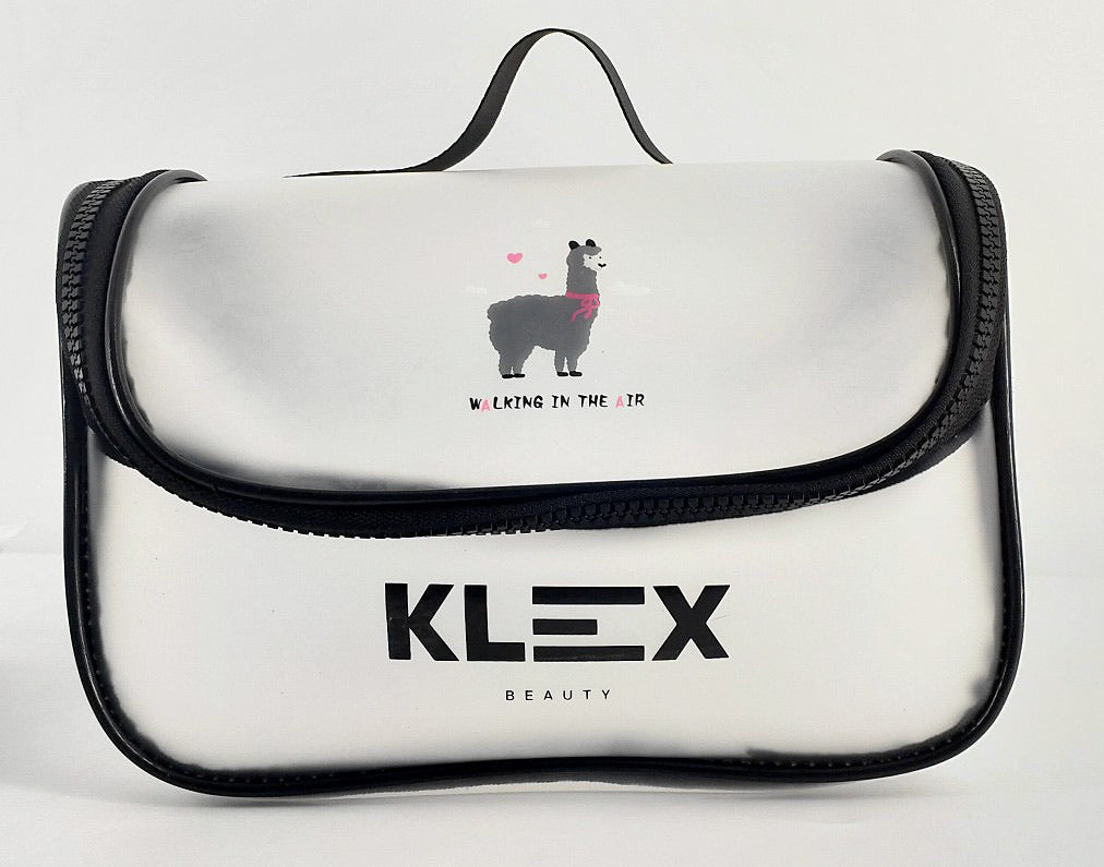 Klex Translucent Make up Bag - Large