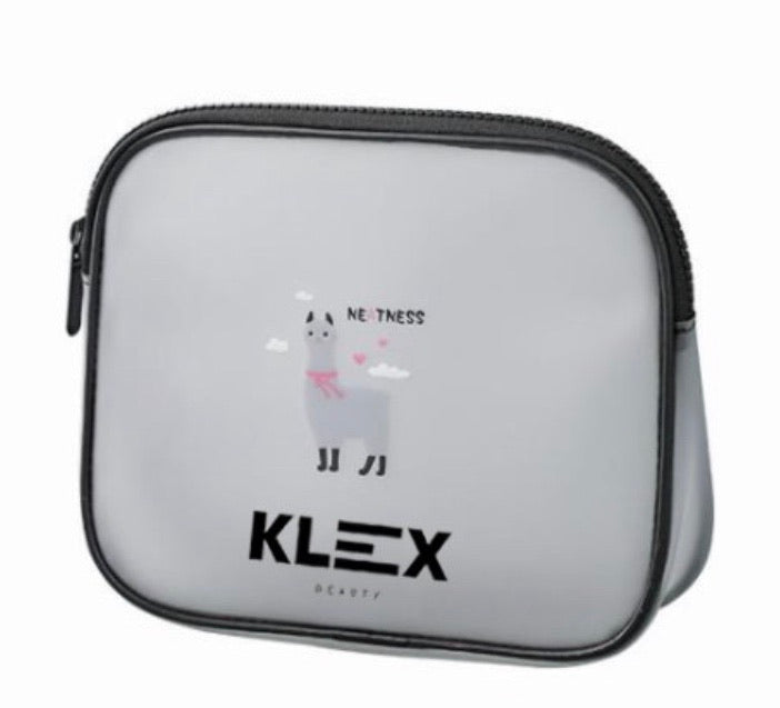 Klex Translucent Make up Bag - Small