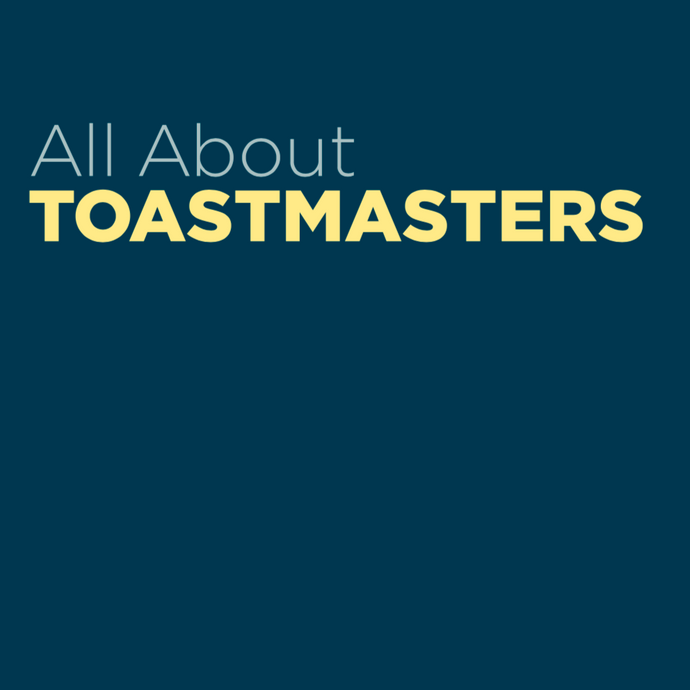 About Toastmasters