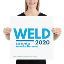 Load image into Gallery viewer, Posters - Leadership America Deserves
